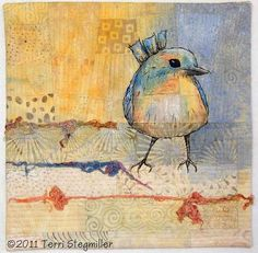Terri Stegmiller Art and Design: A Little Birdy Told Me...