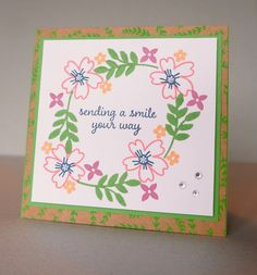 Love and Affection - Quick and Easy Card - The Stamp Cycle