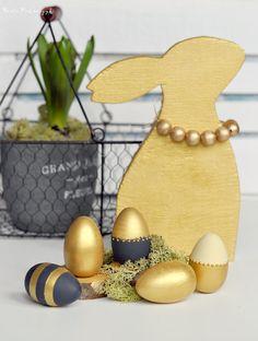 Wielkanoc w złotym kolorze