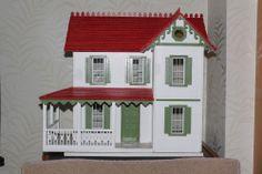 Dolls House, nice style, design and detail.  .....Rick Maccione-Dollhouse Builder www.dollhousemansions.com