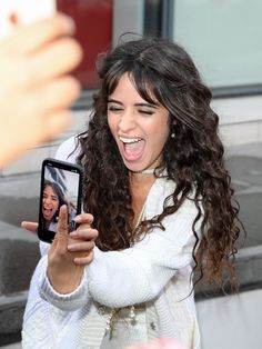 Everything Camila Cabello :) Stream or Purchase Camila's Debut Solo Album Now! A fan page to post pictures, videos, gifs, etc of Camila Cabello. Fifth Harmony, Shawn Mendes, Havana, Cabello Hair, Camila And Lauren, Style Challenge, Hollywood Celebrities, Female Singers, Her Hair