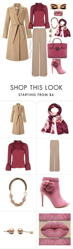 """""""Sin título #111"""" by sousou2578 on Polyvore featuring moda, Miss Selfridge, Vince Camuto, Topshop, Nina Ricci, Jaeger y Furla"""