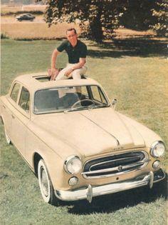 Phil Hill  Peugeot 403