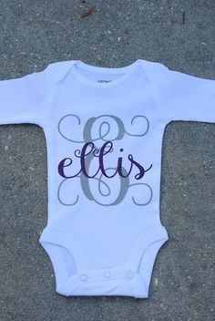 These make the best shower gifts for any expecting mom to be! The sparkle from the glitter really makes for a perfect present!  The onesies are