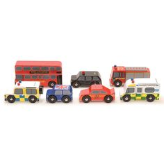 A lovely car set from Le Toy Van makes a great birthday gift for kids aged 4.