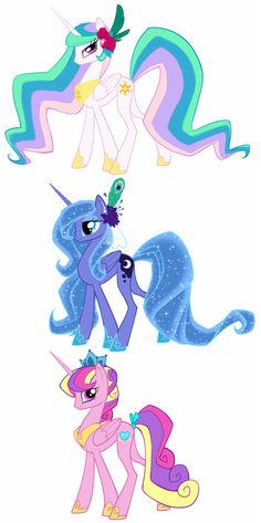 my little pony princess luna and celestia - Google Search