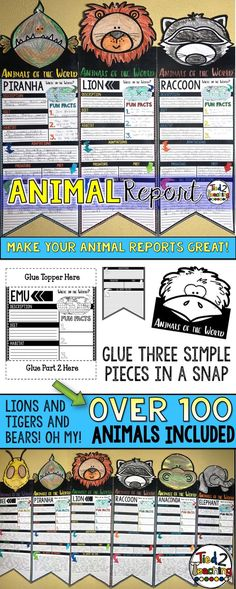 These Animals Report
