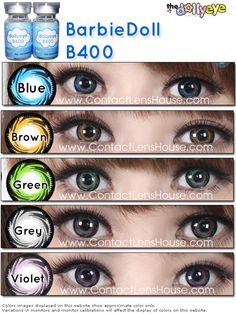 Capture everyone's heart with Barbiedoll Brown cosmetic contact lens ! The Barbiedoll contact lens will wow everyone in your circles Cosmetic Contact Lenses, Coloured Contact Lenses, Colored Contacts, Eye Contacts, Halloween Contacts, Circle Lenses, Color Lenses, All About Eyes, Eye Makeup