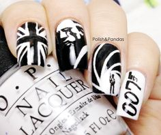 Polish & Pandas: The Ultimate 007 Mani This is so cool!