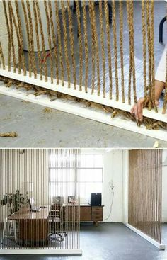 División de ambiente #Inspirate #ideas #interiordesign
