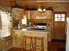 Pallet-Wood-Kitchen-Cabinets.
