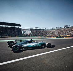 Lewis Hamilton in Mexico 2017