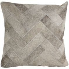 Dakota Hair Throw Pillow