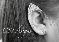 In this tutorial I show you how to make an elvish ear cuff that is perfect fancy dress, Halloween or any occasion you like. Please feel free to give it a try...