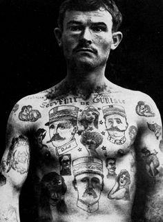 tatouage bagnard - Recherche Google
