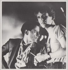 "Mostly Minds (or ""The Kerr-sed"") w/ G-22 — Jim Kerr and Derek Forbes, circa 1981. I always..."