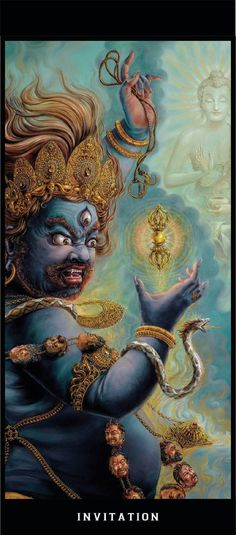 Vajrapani Tibetan Art, Tibetan Buddhism, Buddhist Art, Indian Gods, Indian Art, Vajrayana Buddhism, Drawing Sketches, Drawings, Japan Tattoo