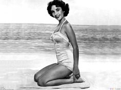 Eve Out of The Garden: Watching the swimsuit evolution Liz Taylor