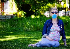 Ready to Pop! Fun, modern, maternity shoot by The Little Picture, Toronto & GTA www.little-picture.com #pregnant, fun maternity photo, alternative maternity photo, baby boy