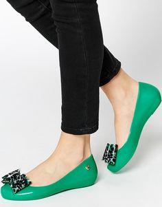 Mel by Melissa Pop Bow 3 Flat Shoes