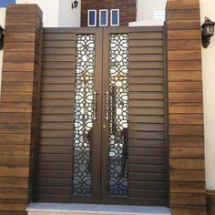 Home Gate Design, House Main Gates Design, Main Entrance Door Design, Steel Gate Design, Iron Gate Design, Front Door Design, Small House Design, Ceiling Light Design, False Ceiling Design