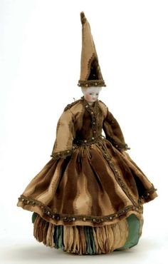A wizard doll that might also double as a pin cushion.