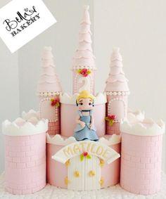 Cindarella castle cake