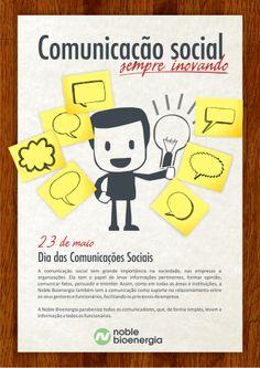 23 de maio - Dia das Comunicações Sociais