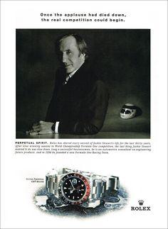 Sir Jackie Stewart Formula 1 Racing Legend & Rolex Ambassador An Amazing Career Wearing Rolex. Cool Watches, Rolex Watches, Luxury Watches, Edgar Mitchell, Eugene Cernan, Members Of Fleetwood Mac, Edwards Air Force Base, Jackie Stewart, Watches