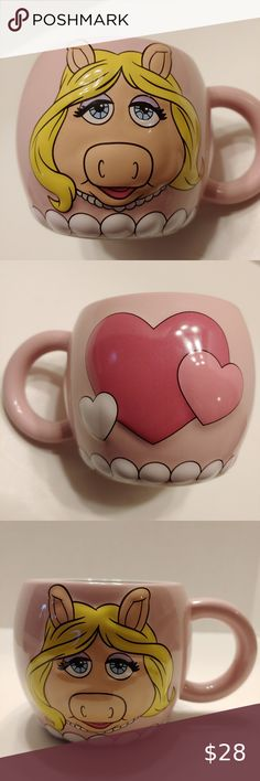 "Disney Store SweetHearts 18/"" Doll Mini Tea Set Pink with Winnie The Pooh"