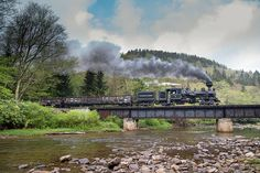 Cass Scenic Railroad - Mountain State Railroad & Logging Historical Association Railfan Weekend 2015