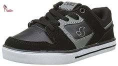 DVS Celsius, Chaussures de Skateboard Homme, Noir (Black Charcoal Grey Leather Nubuck), 40 EU