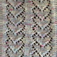 Megan Trudeau added a photo of their purchase Lace Knitting Stitches, Baby Sweater Knitting Pattern, Lace Knitting Patterns, Knitting Socks, Baby Knitting, Fingering Yarn, Hand Knit Scarf, Moss Stitch, Crochet Diagram
