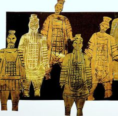 arteascuola: Terracotta Army printed wit foam