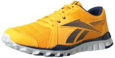 Reebok Men's Realflex Advance Cross-Training M US Advance Training, White Gravel, Orange Shoes, Training Shoes, Best Brand, Reebok, Casual Shoes, Men Dress, Men's Shoes