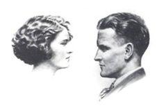 Zelda and Scott Fitzgerald