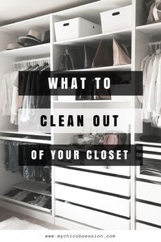 What to toss from your closet for the New Year   #wardrobe #clothes #fashion #change #shirt #shoes #trousers #underwear #slips
