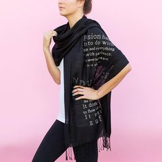 Passion Poetry Scarf House of Leaves House Of Leaves, Poetry Quotes, Alexander Mcqueen Scarf, Poems, Passion, T Shirts For Women, Poetry, A Poem, Verses