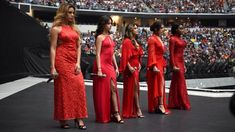 "Multi-platinum recording artists Fifth Harmony sing ""America the Beautiful"" for the capacity AT&T Stadium crowd. The Girl Who, My Girl, Wwe Events, Fith Harmony, Best Dance, Celebs, Celebrities, American Singers, Fifth Harmony"