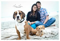Couple with pets - Heather Hatcher Photography » Blog