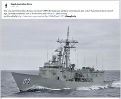 HMAS SYDNEY coming to end of great career