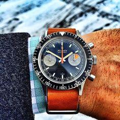 1970s Nivada-Grenchen Chronomaster - $1,600