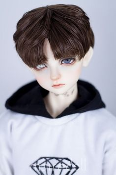Wigs for BJD Dolls - BJD Accessories, Dolls - Alice's Collections Source by Pretty Dolls, Beautiful Dolls, Kawaii Doll, Realistic Dolls, Smart Doll, Cosplay, Doll Costume, Doll Repaint, Boy Doll