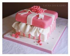 The Gift Box Cake — Birthday Cakes