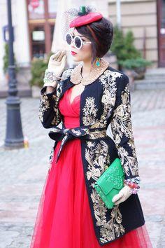 Rose lunettes de soleil pour 50s 60s 70s style poule nuit et robe fantaisie