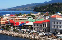 Roseau Dominica im Dominica Reiseführer http://www.abenteurer.net/1502-dominica-reisefuehrer/