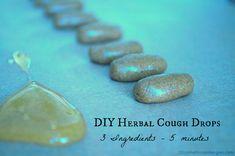 DIY cough and sore throat drops