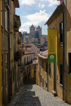 A street in Porto   Portugal