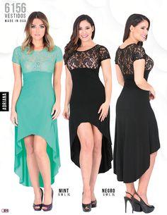 6156 Vestido Dama Adriana