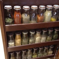 Starbucks bottles etched... spices now❤